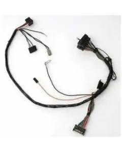 Camaro Front Light Wiring Harness, 6-Cylinder, With WarningLights, 1971