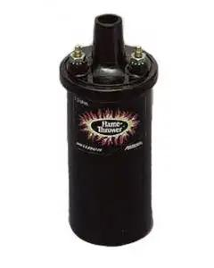 Camaro Ignition Coil, Black, Flame-Thrower, 1967-74