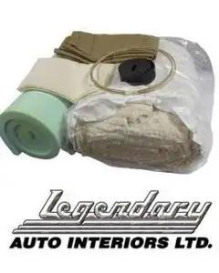 Legendary Auto Interiors, Front Seat Installation Kit, For Split Bench| INSTALLKIT 4 Camaro 1967-1969