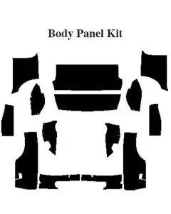 Camaro Insulation, QuietRide, AcoustiShield, Body Panel Kit, Coupe, 1967-1969