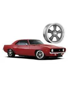 1967-1981 Camaro Grey Fuel Wheel, 15x8, 5x4 1/2 Pattern