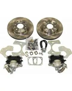 Rick's Camaro - Rear Disc Brake Conversion Kit, Basic, Non-Staggered Shocks, Without C Clip Rear End, 1967-1969