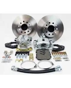 Rick's Camaro - Rear Disc Brake Conversion Kit,  For Car With Staggered Shocks And  Without C Clip Rear End, 1967-1969