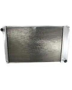 "Camaro Radiator, With 1"" Tubes, For Cars With Manual Transmission, Aluminum, Griffin, 1980-1981"