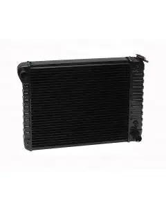 Camaro Radiator, Copper 3 Core, Small Block, For Cars With Automatic Transmission & Without Air Conditioning, U.S. Radiator, 1970-1971