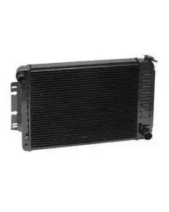 Camaro Radiator, Small Block, Copper 3 Core, For Cars With Manual Transmission & Air Conditioning, U.S. Radiator, 1970-1971