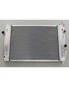Be Cool Camaro Radiator, Polished, Aluminum, For Cars With Manual Transmission 1982-1992