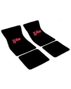 Auto Custom Carpets Camaro Carpeted Floor Mat Set, Embroidered 1974-1981