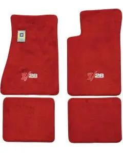 Auto Custom Carpets Camaro Carpeted Floor Mat Set, Embroidered 1982-1992