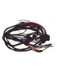Camaro Front Light Wiring Harness, V8, With Warning Lights,1970