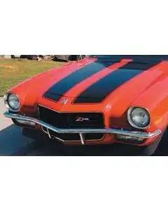 Camaro Stencil Kit, 1970 With 1-Piece Rear Spoiler, 1973 Z28With High Spoiler