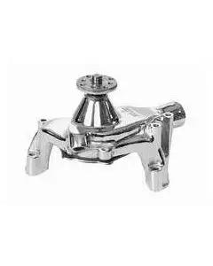 Camaro Water Pump, Small Block, Long Style,  Chrome,SuperCool, 1969-92