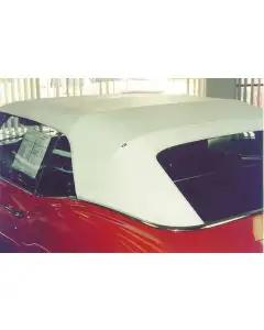 Camaro Convertible Top, With Fixed Plastic Window, 1967-1969