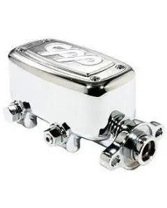 "Camaro Brake Master Cylinder, Proportioning Valve, & Metering Valve, 1 1/8"" Bore, Polished, 1967-1981"