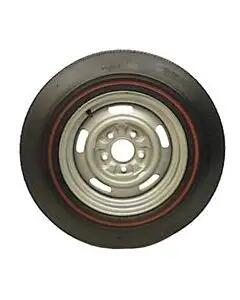 Camaro Tire, D70 x 14 Firestone Wide Oval Red Line, 1967-1969