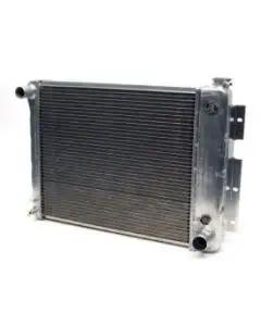 "Camaro Radiator, Aluminum, 23"", Griffin Pro Series, For Cars With Automatic Transmission, 1967-1969"