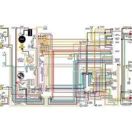 Camaro Color Laminated Wiring Diagram, 1967-1981 | 1980 Camaro Ac Wiring Schematic |  | Ricks Camaro