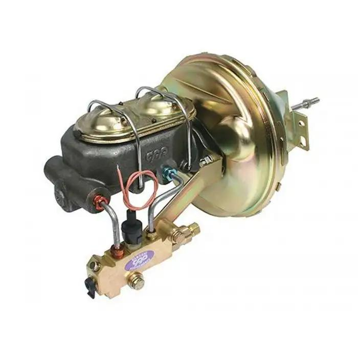"1967-69 Chevy Camaro Firewall Mount Power 8/"" Single Brake Booster Kit Disc//Disc"