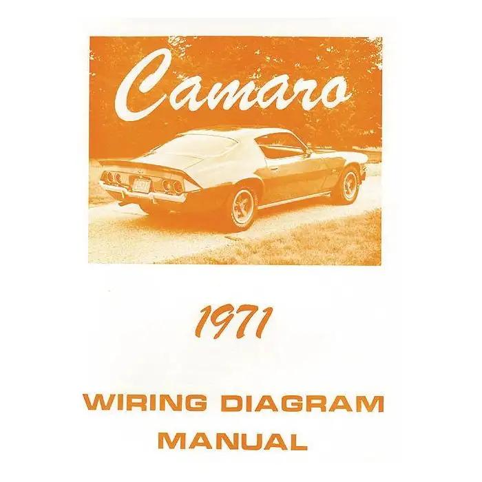 Camaro Wiring Diagram Manual 1971