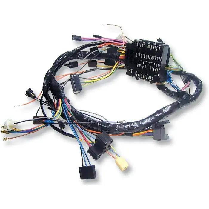 camaro under dash main wiring harness, for cars with automatic transmission  console shift & factory console gauges, 1969  ricks camaro