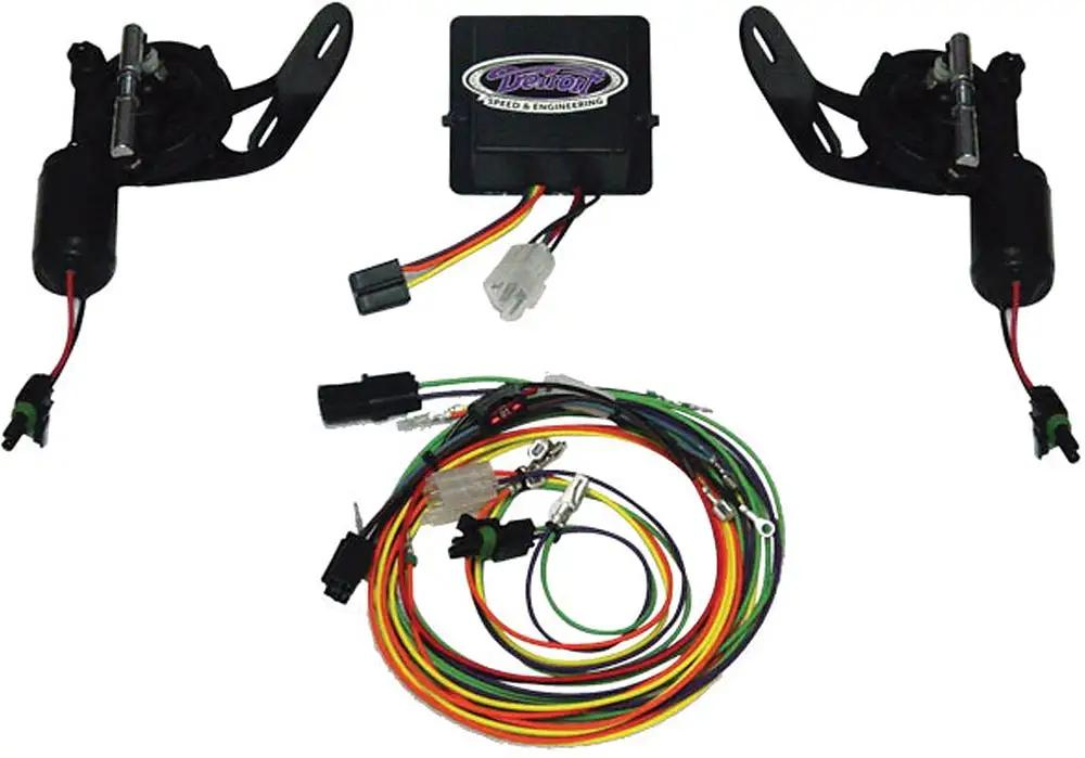 Camaro Headlight Door Conversion Kit Vacuum To Electric Rally Sport Rs 1968
