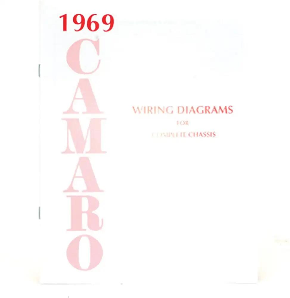 Camaro Wiring Diagram Manual 1969