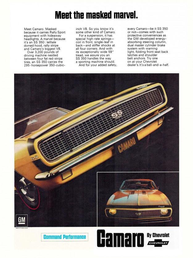 1967 Camaro Ad