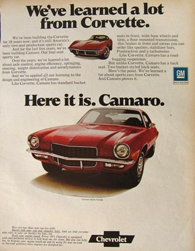1971 Camao Ad